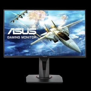 ASUS VG258Q 24.5 '' FHD monitor, 1980 x 1080, 1 ms, 144 Hz, G-SYNC, DisplayPort, zvučnici