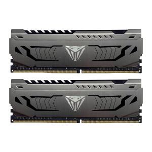 Patriot Viper Steel Kit 16GB (2x8GB) DDR4-3600 DIMM PC4-28800 CL18, 1.35V
