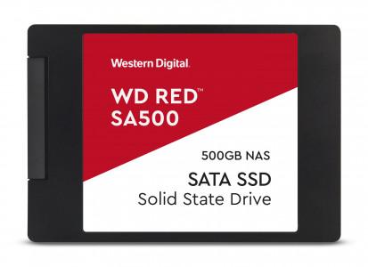 """WD 500 GB SSD CRVENI 3D NAND 6,35 (2,5 """") SATA3"""