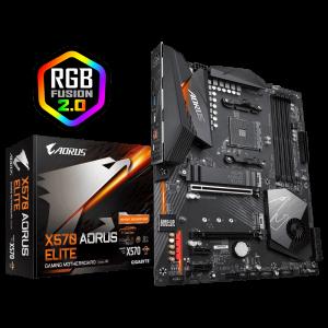 GIGABYTE X570 AORUS ELITE, DDR3, SATA3, USB3.2Gen2, AM4 ATX
