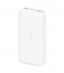 Xiaomi Redmi Power Bank prijenosna baterija od 20.000mAh - bijela