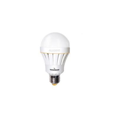 LED svjetiljka Tecnoware LED Aladino s baterijom, 10 W E27 3000K topla bijela
