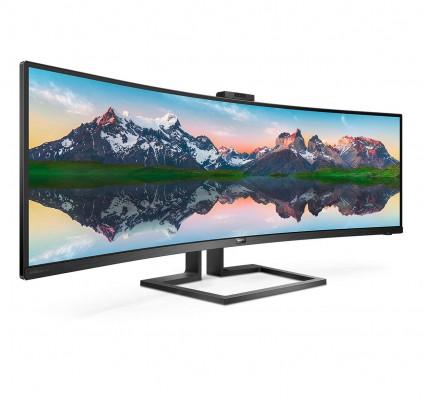 "Philips 49 ""Brilliance SuperWide zakrivljeni monitor"
