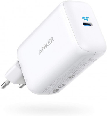 Anker PowerPort III 65W Pod potovalni polnilec z EU, UK in US adapterjem