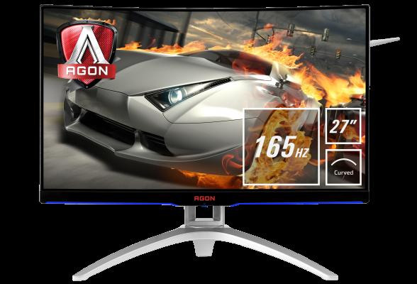 AOC AG272FCX6 27 '' MVA zakrivljeni monitor