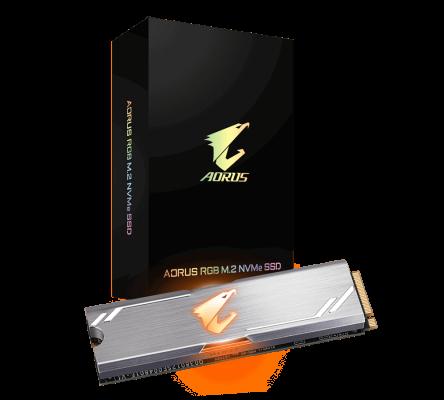 GIGABYTE AORUS RGB M2 NVME SSD 256GB
