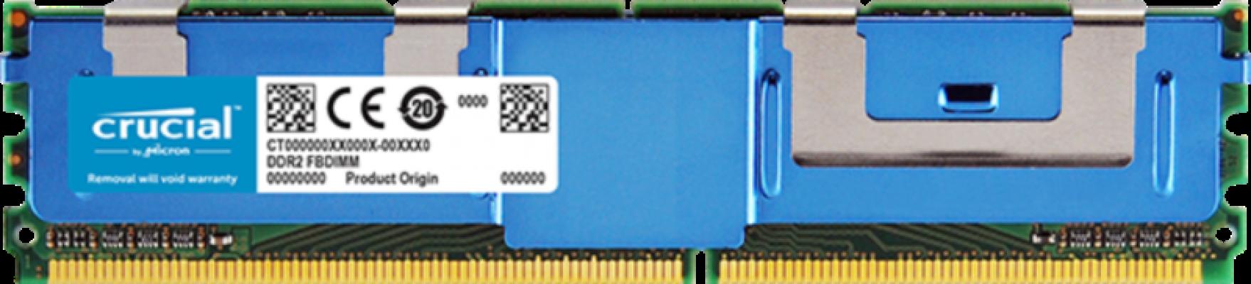 Crucial CT51272AF667 4GB DDR2 667MHz (PC2-5300) CL5 Fully Buffered ECC FBDIMM 240pin