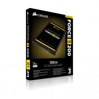 """SSD 120GB CORSAIR 2.5 """"(6.3cm) SATAIII serija sile LE200"""