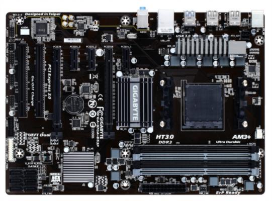 GIGABYTE GA-970A-DS3P, DDR3, SATA3, USB3, AM3 / AM3 + ATX