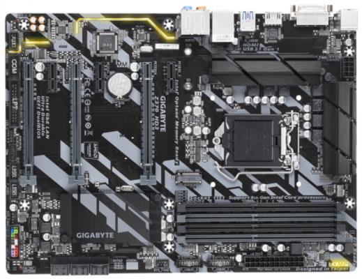 GIGABYTE Z370 HD3, DDR4, SATA3, USB3.1Gen1, HDMI, LGA1151 ATX