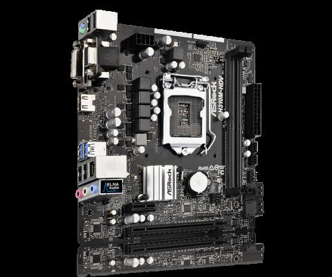 ASRock H310M-HDV, DDR3, SATA3, USB3.1Gen1, HDMI, LGA1151 mATX