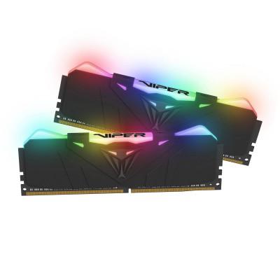 PATRIOT DDR4 RGB 16GB (2X8GBKIT) 3000MHz CL15 BLACK