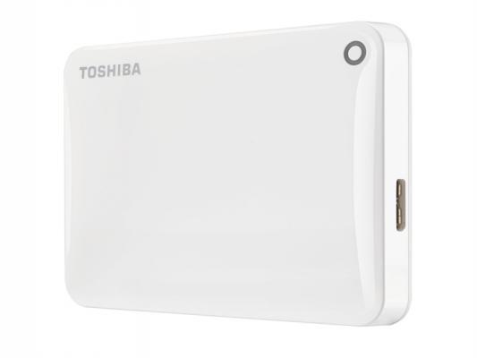 Toshiba Canvio Connect USB 3.0 Vanjski pogon od 500 GB, bijeli