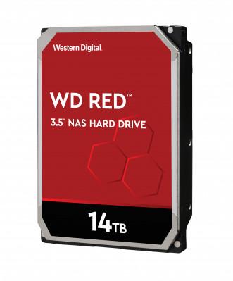 WD tvrdi disk 14TB SATA3, 6Gb / s, 5400, 512MB CRVENI