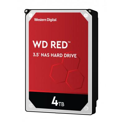 WD 4TB SATA3 tvrdi disk, 6Gb / s, 5400rpm, 256MB CRVENI