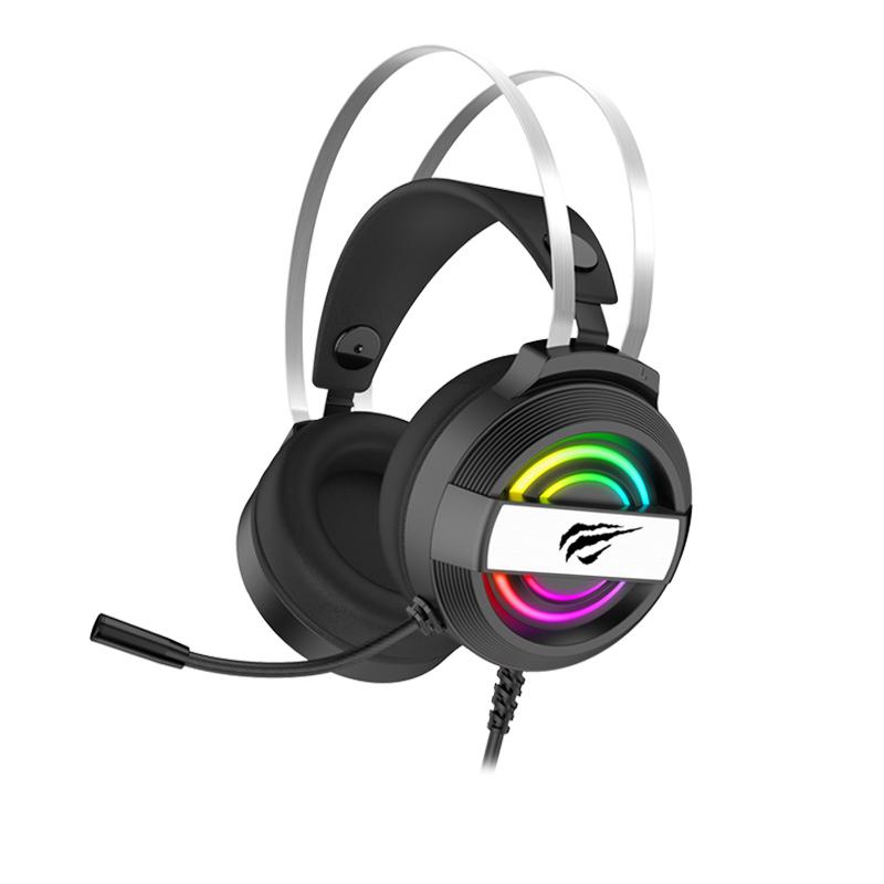 HAVIT Gamenote RGB LED slušalke z mikrofonom HV-2026d