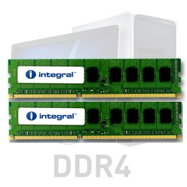 Integral 16GB Kit (2x8GB) DDR4-2666 UDIMM PC4-21300 CL19, 1.2V