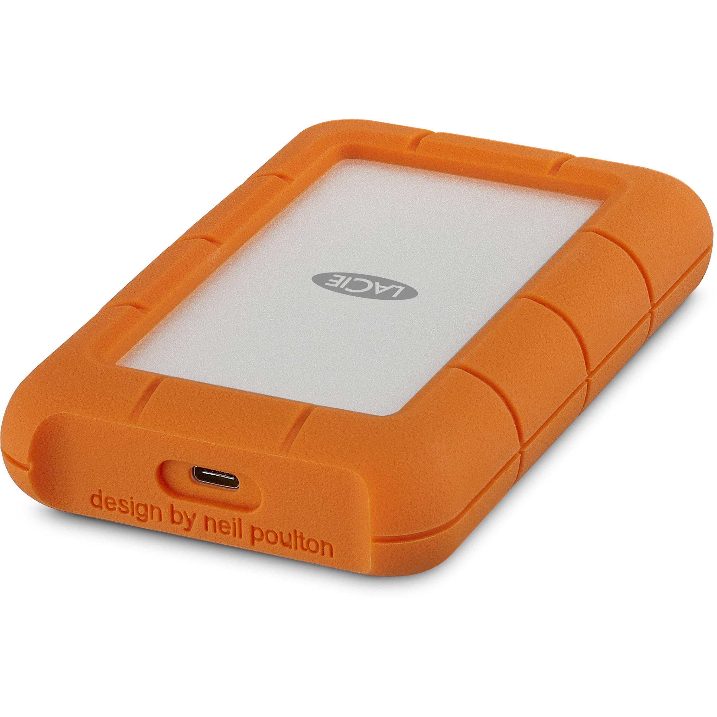 LaCie 4TB Rugged 2,5 USB-C 3.1