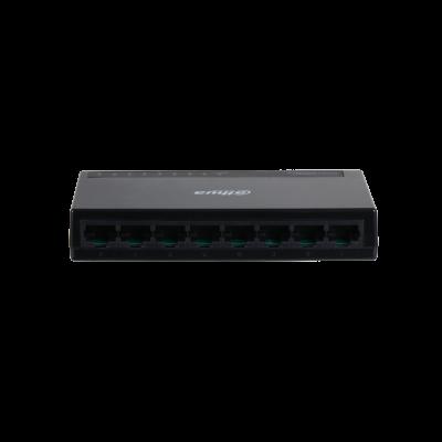 Dahua stikalo mrežno 8 port  10/100/1000  PFS3008-8GT-L