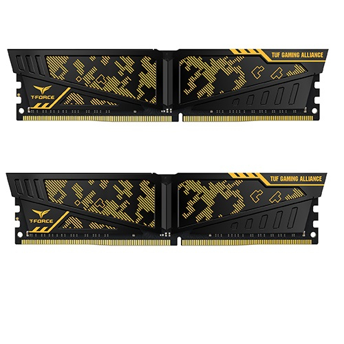 Teamgroup Vulcan TUF Gaming Alliance 16GB Kit (2x8GB) DDR4-3200 DIMM PC4-25600 CL16, 1.35V
