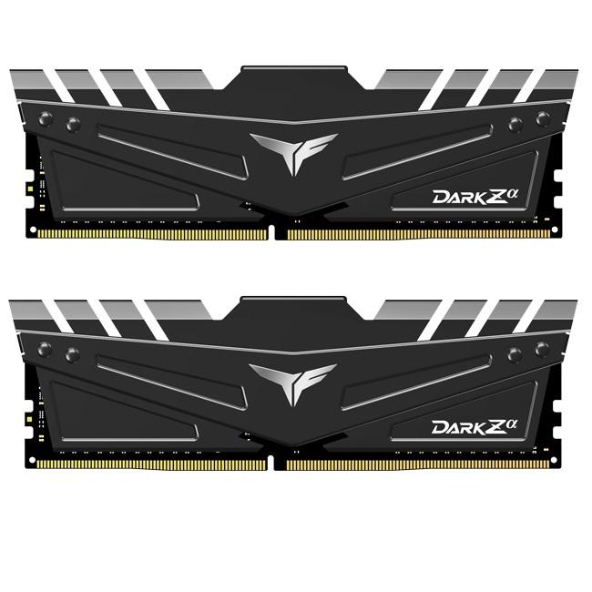 Teamgroup Dark Zα 16GB Kit (2x8GB) DDR4-3200 DIMM PC4-25600 CL16, 1.35V