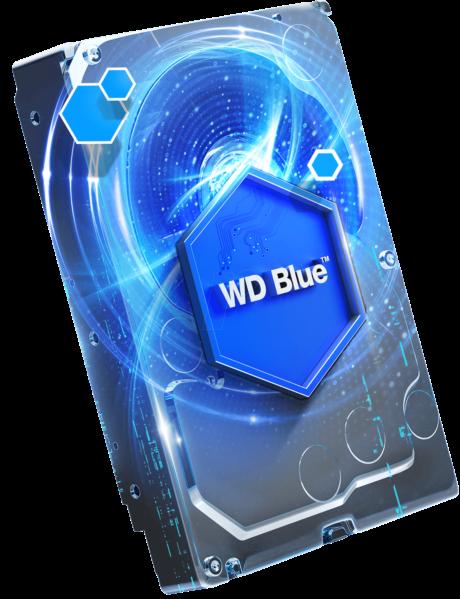 WD trdi disk 4TB 5400RPM 64MB 6GB/S BLUE